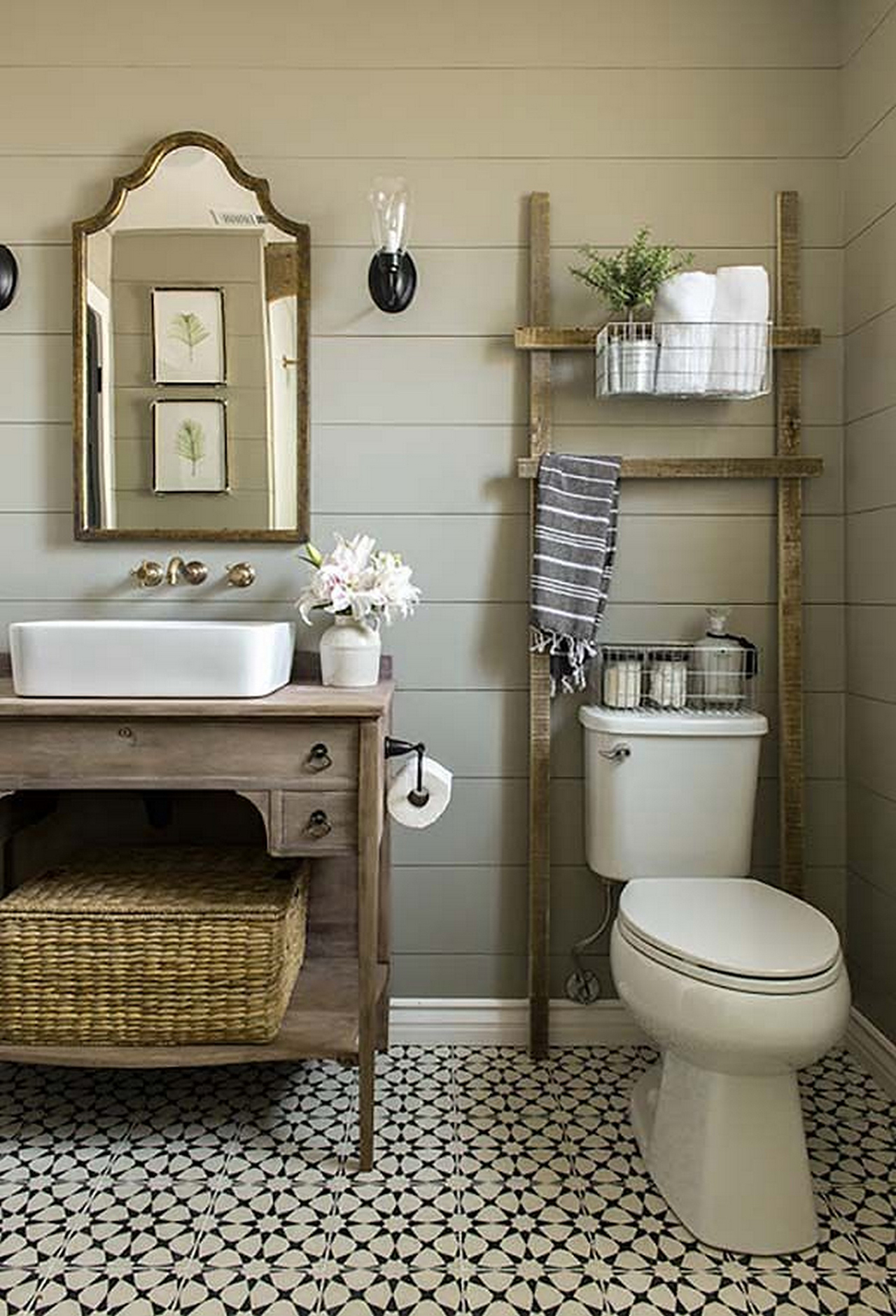 The Golden Blend of Modern and Rustic