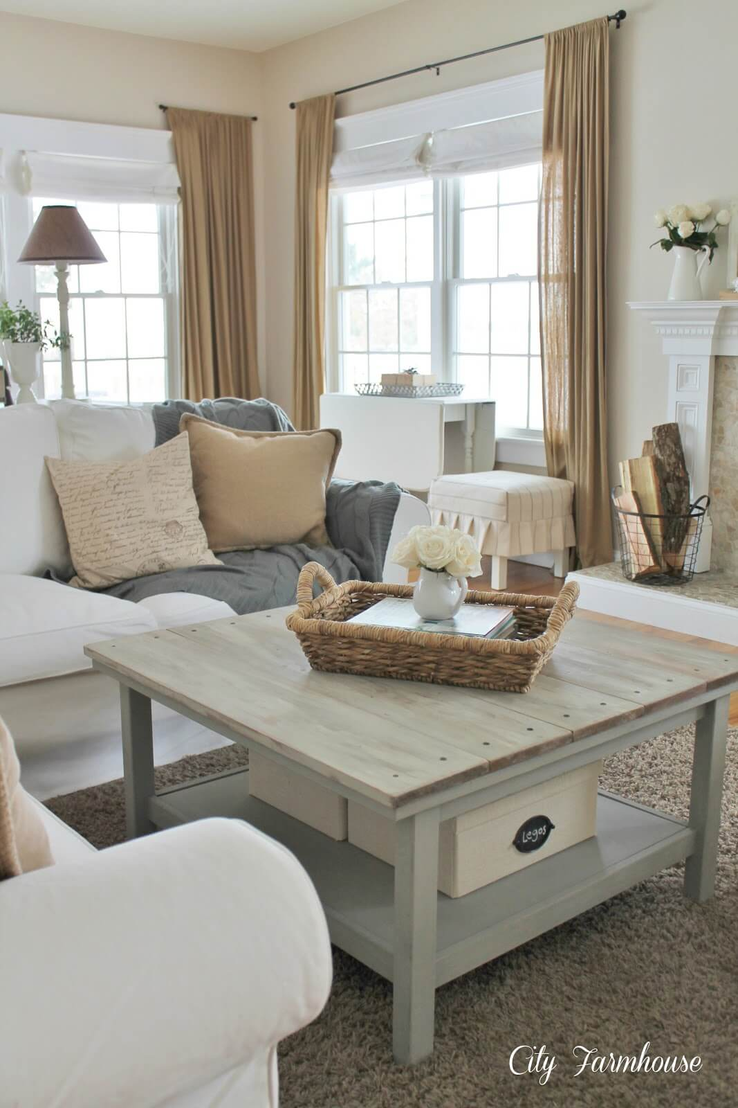 Cozy French Provincial Inspired Space