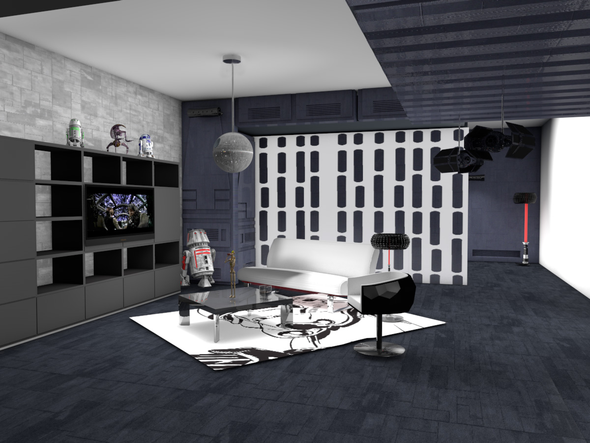 Death Star Living Room