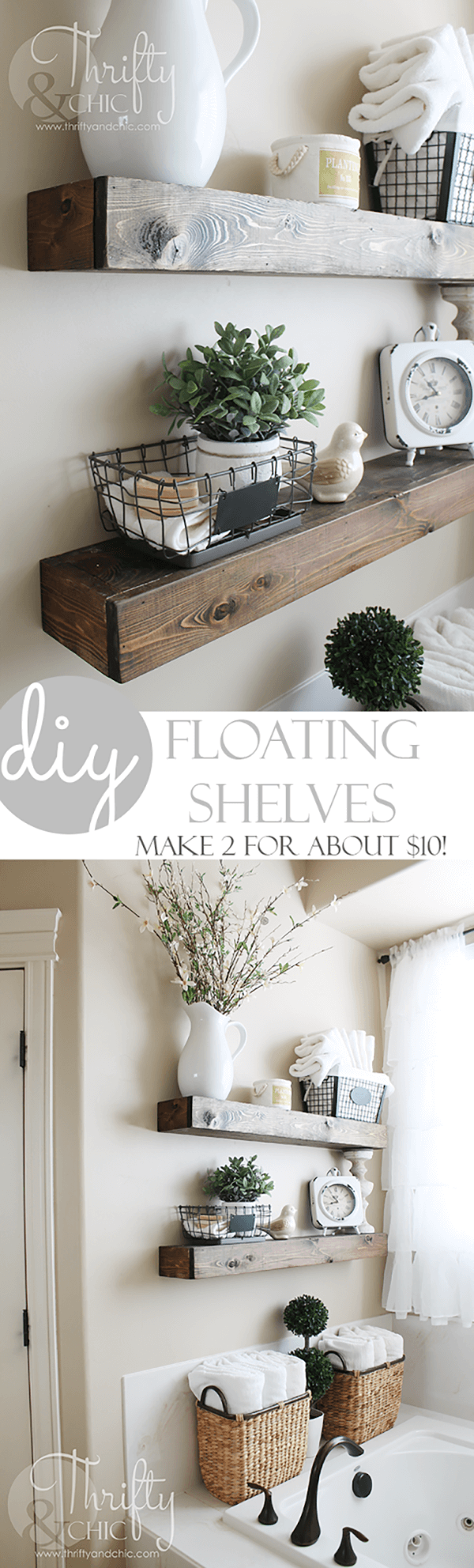 Petite Chateau DIY Shelf Inspiration
