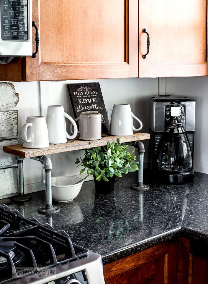 Make a Mug Stand with Plumbing Pipe