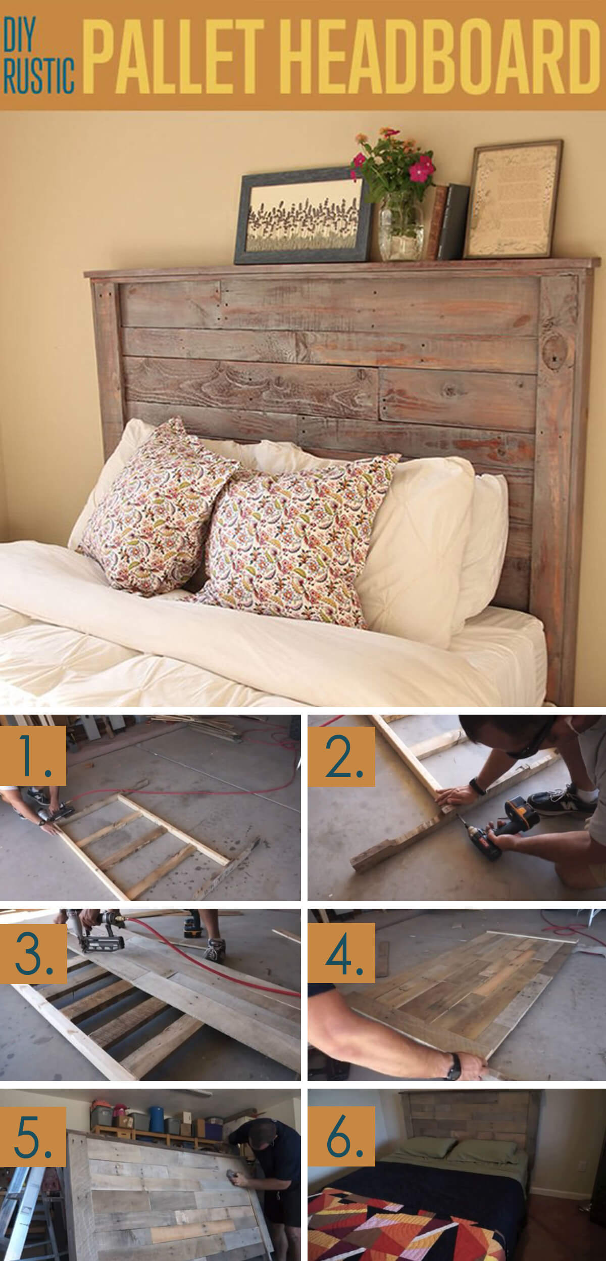 Rustic And Modern Headboard