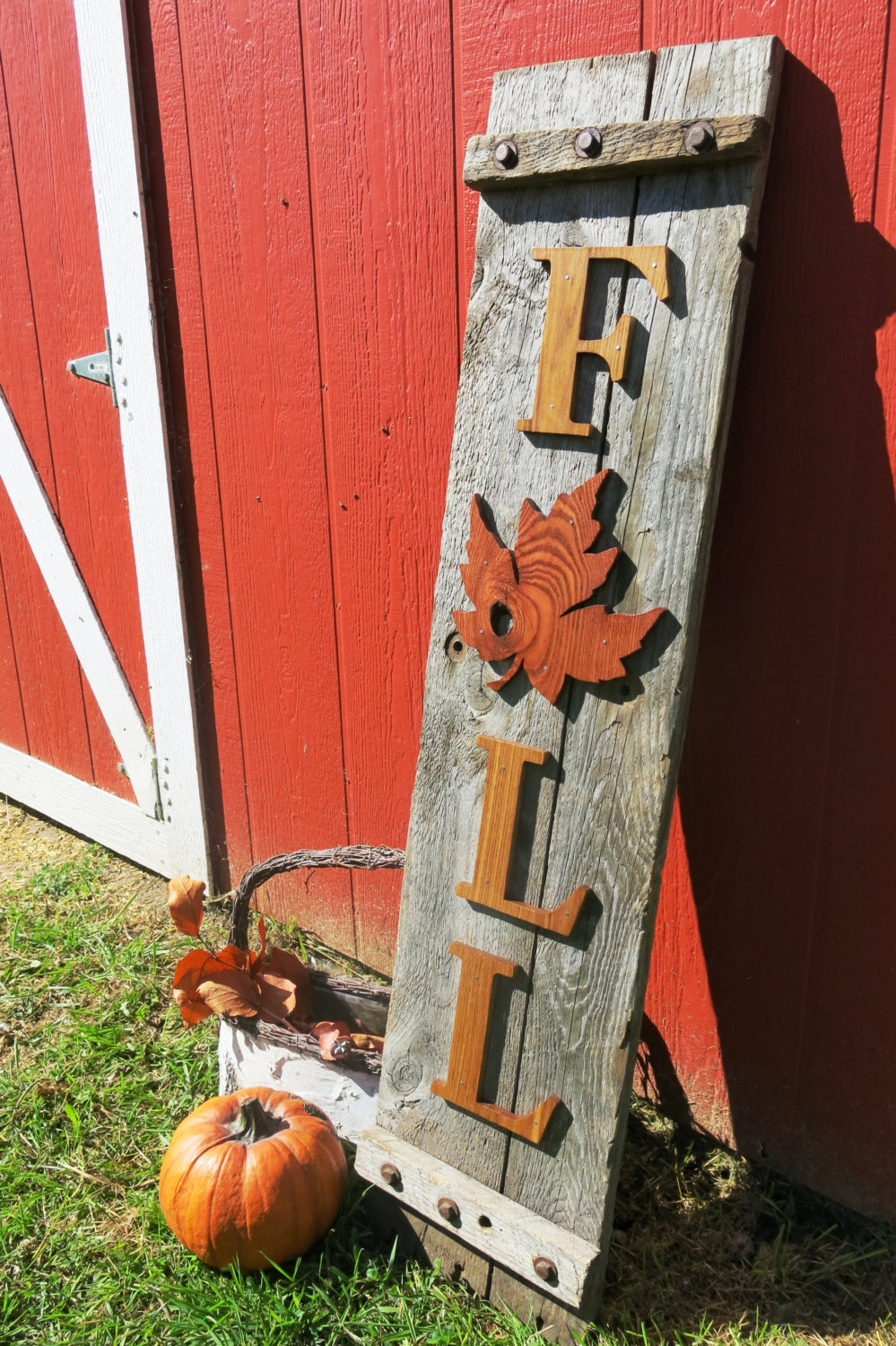 Country Inspired 'Fall' Sign
