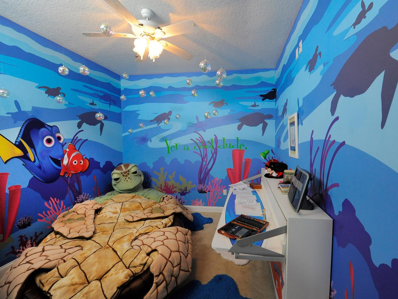 Finding Nemo Kids Room Design