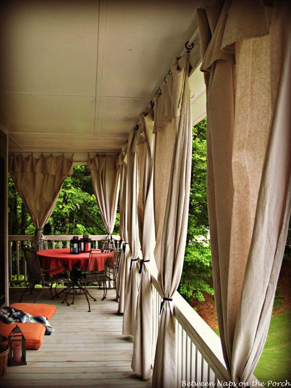Neutral Colors Compliment Any Veranda