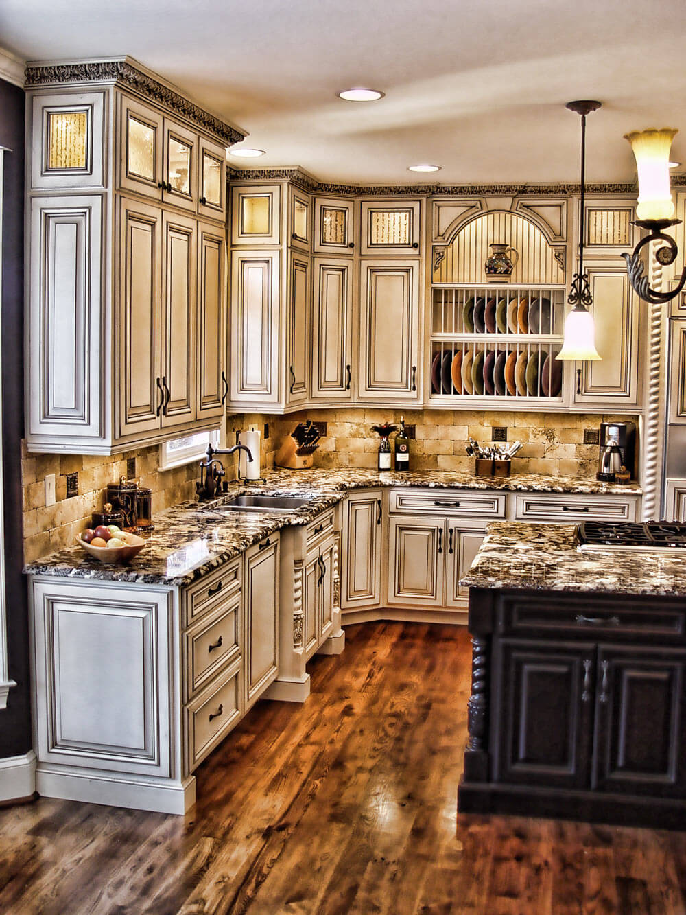 Maison-Chic Rustic Kitchen Cabinet Designs