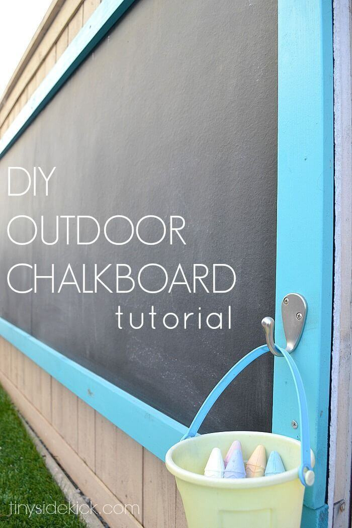 A Chalkboard to Draw and be Creative