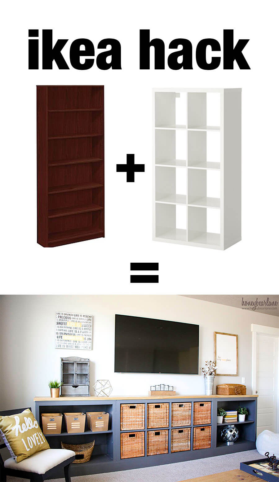 Easy and Genius Basket Cabinet
