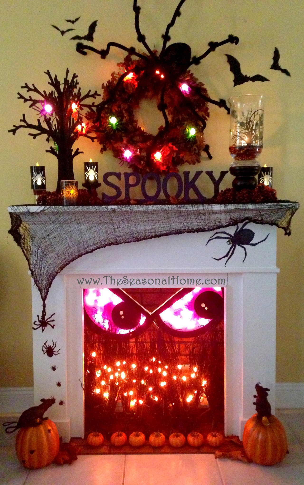 Spooky Fireplace Crackles with Fun