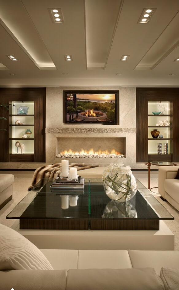 26 Stylish Ways Modern Living Room Decorating Ideas Can Make ...