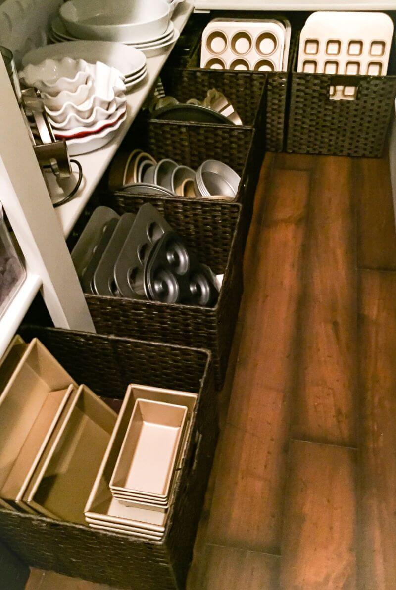 Big Square Baskets for Cookware