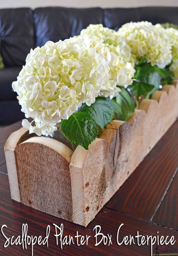 A Simple Planter Box Centerpiece