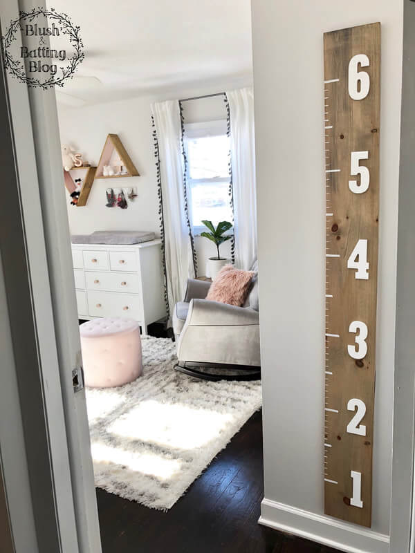 Chart a Child's Height in Style
