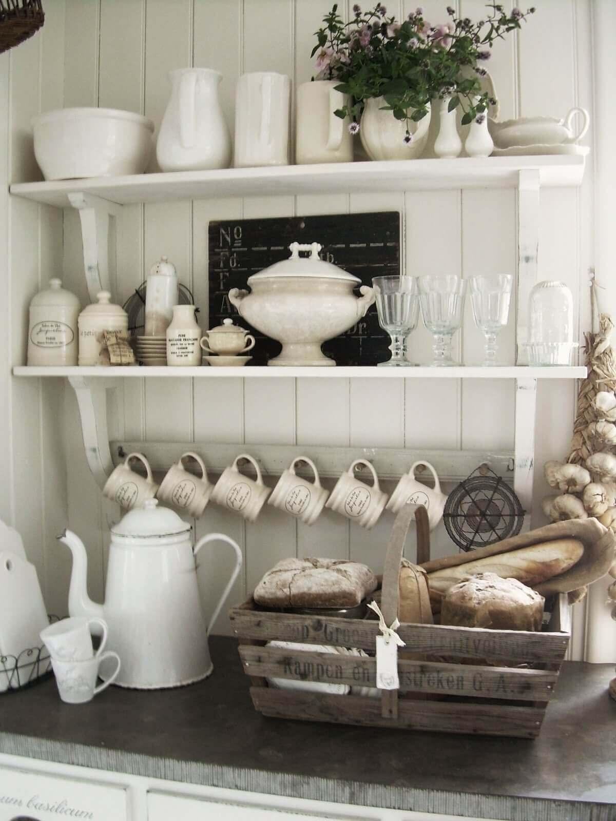 02 Vintage Kitchen Design Decor Ideas Homebnc Rina Watt Blogger Home Diy And Recipes