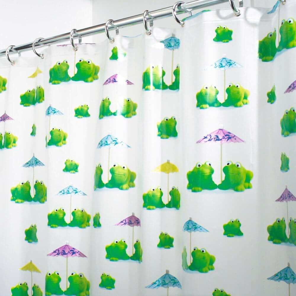 Adorable Frogs Curtain Design
