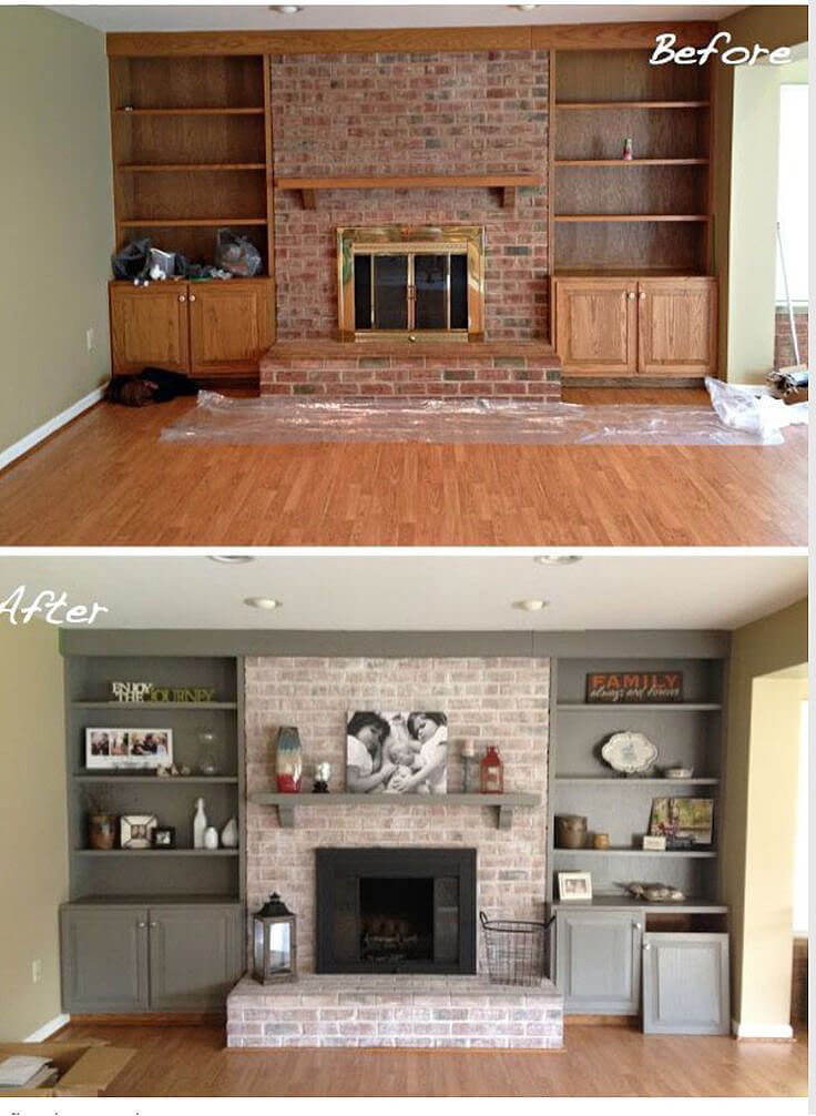 How to Update Dated Living Room Finishes