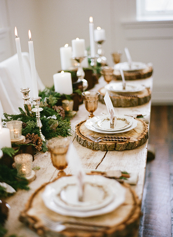 Rustic Winter Wedding