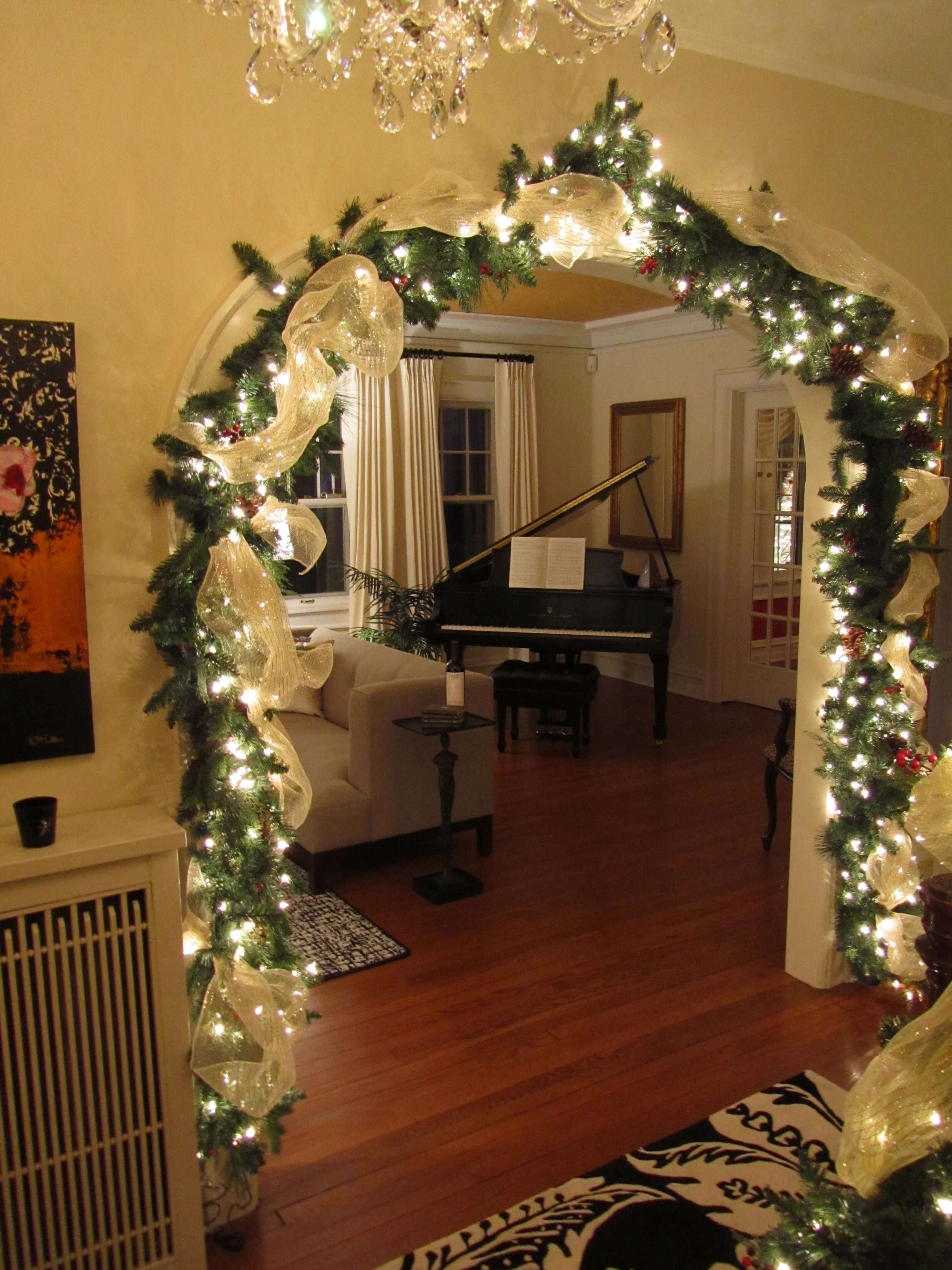 Gold Portal to the Music Room