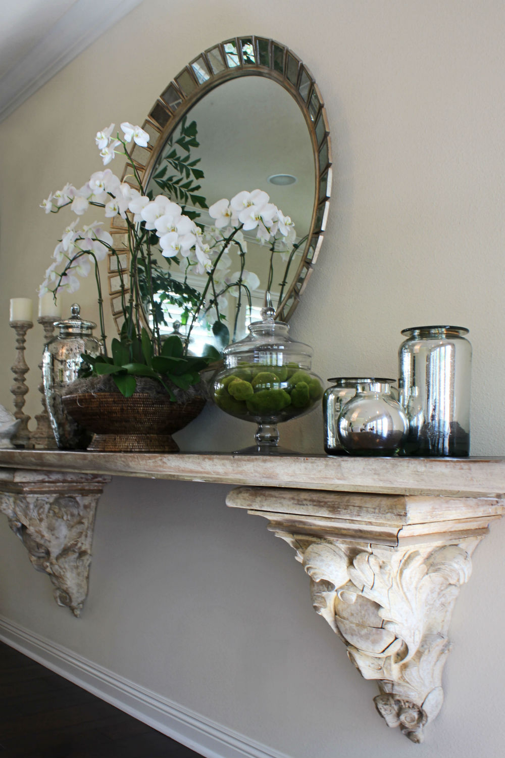 French Renaissance Corbel Statement Shelf