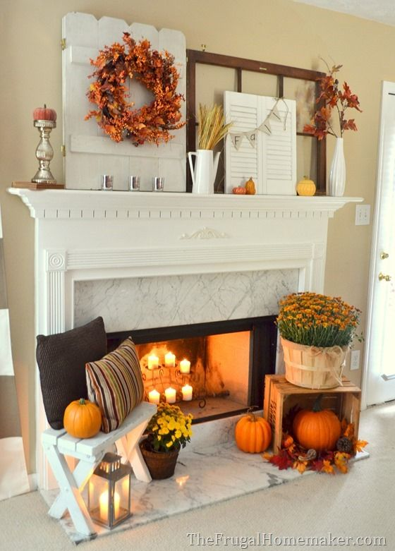 Ideas Spill from the Mantel on to the Heart