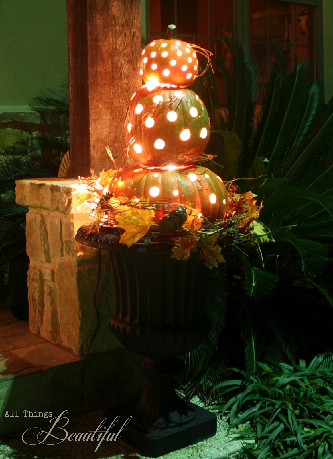 A Glowing Homage to Fall