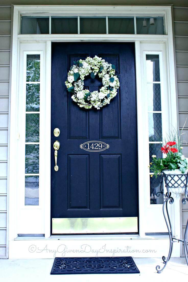 Beautifully Bold and Bodacious Blue Door