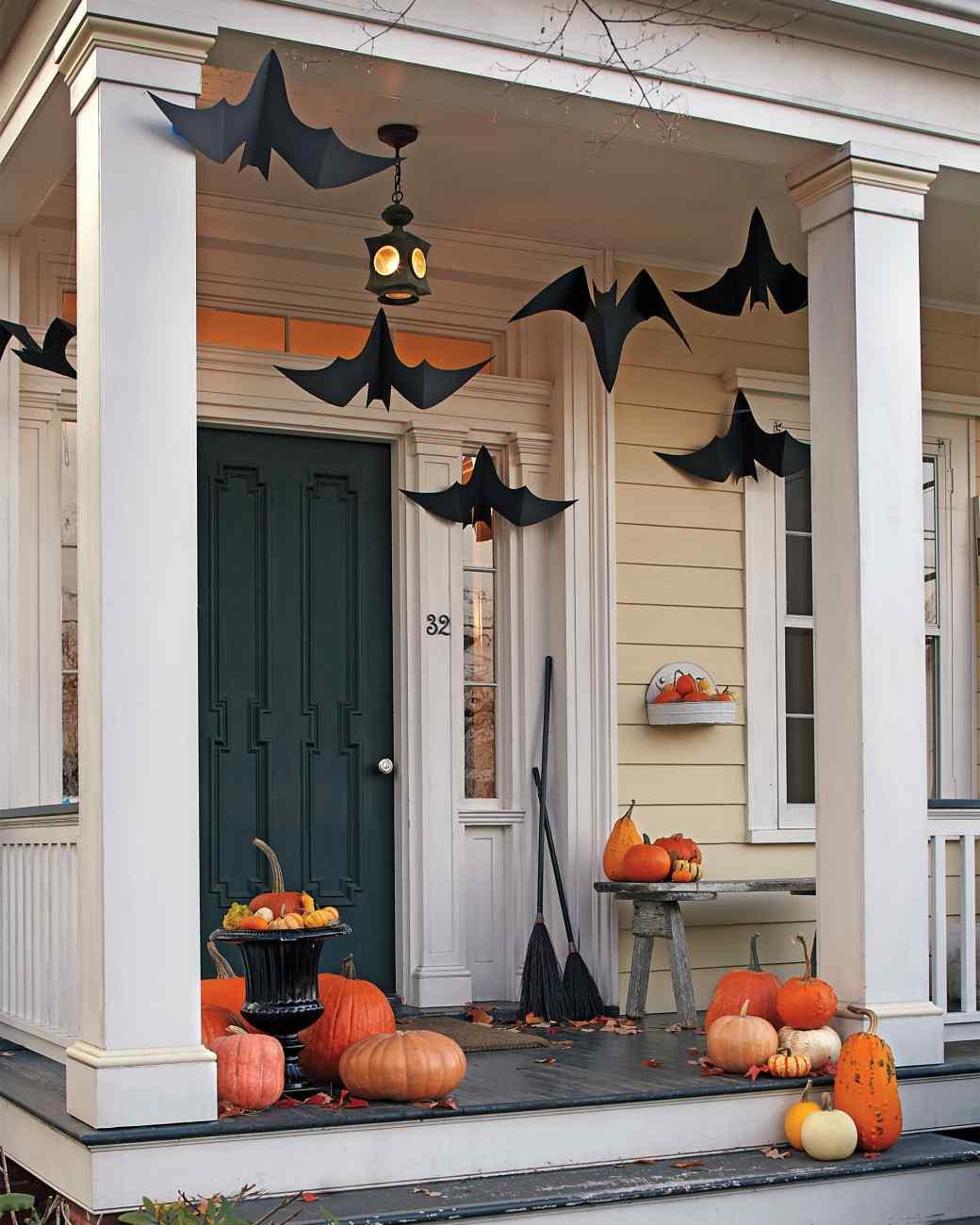 Uncomplicated Bat Decorations