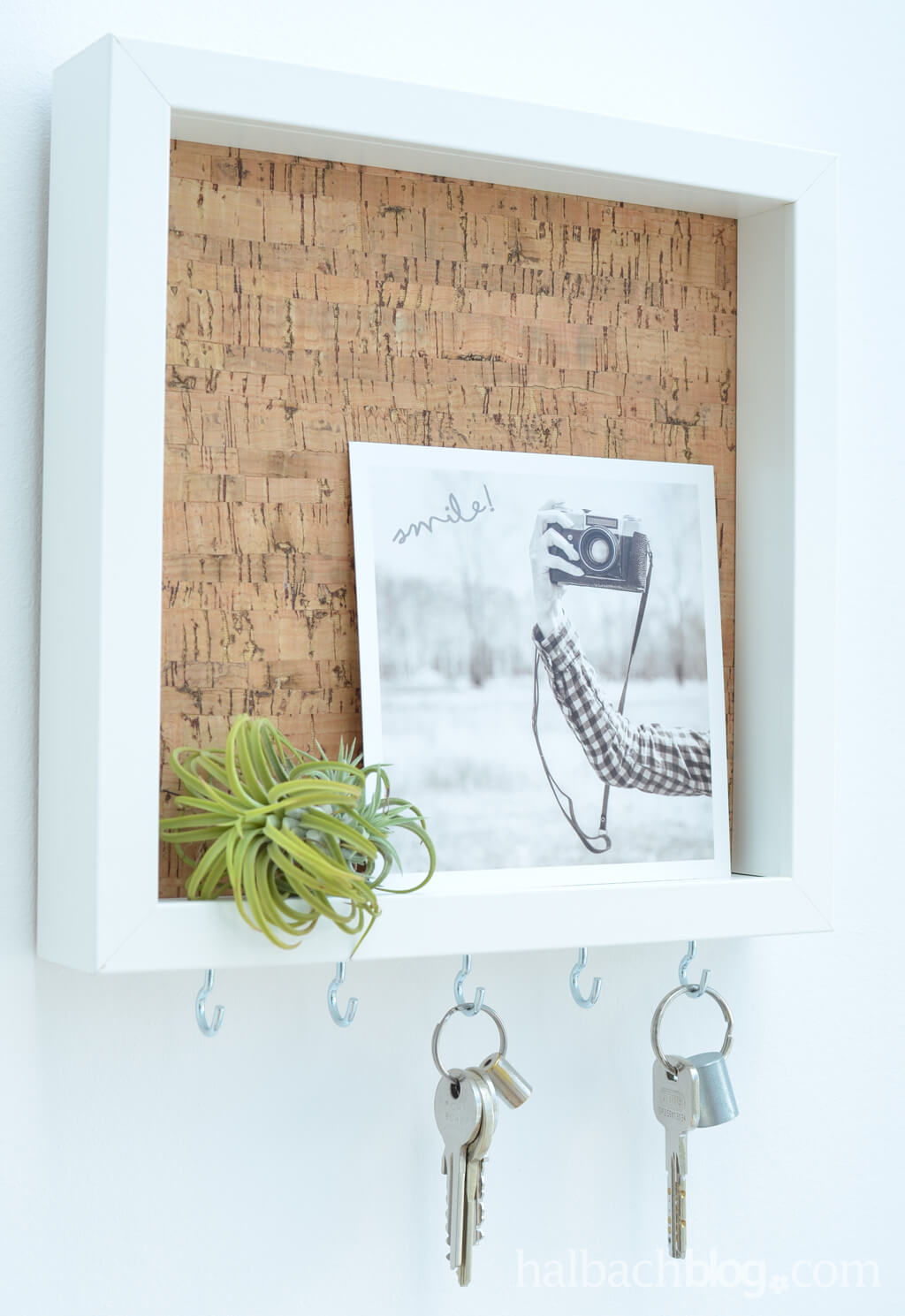 Cute and Simple Key Rack