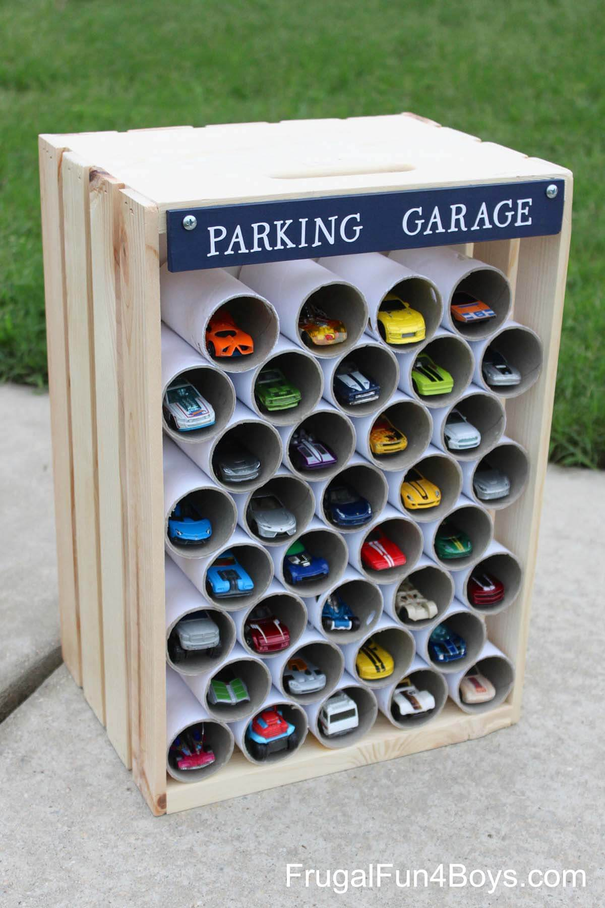 Garage for Toy Car Collectors