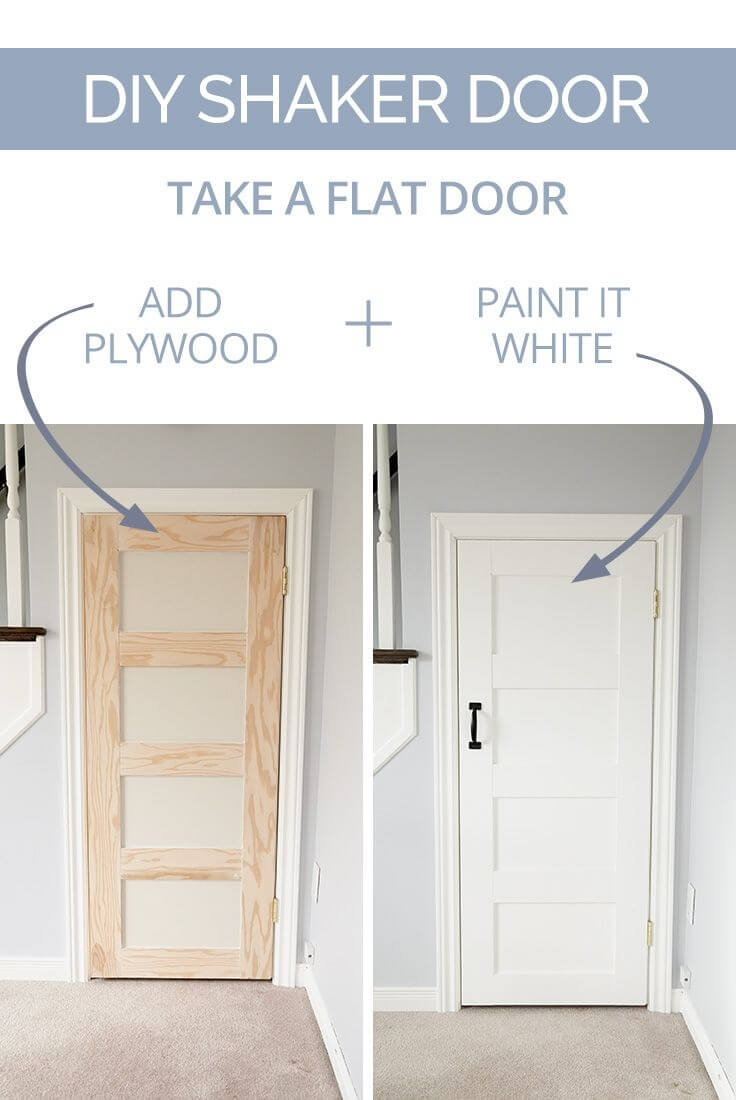 Cheap Door Gets Shaker Treatment