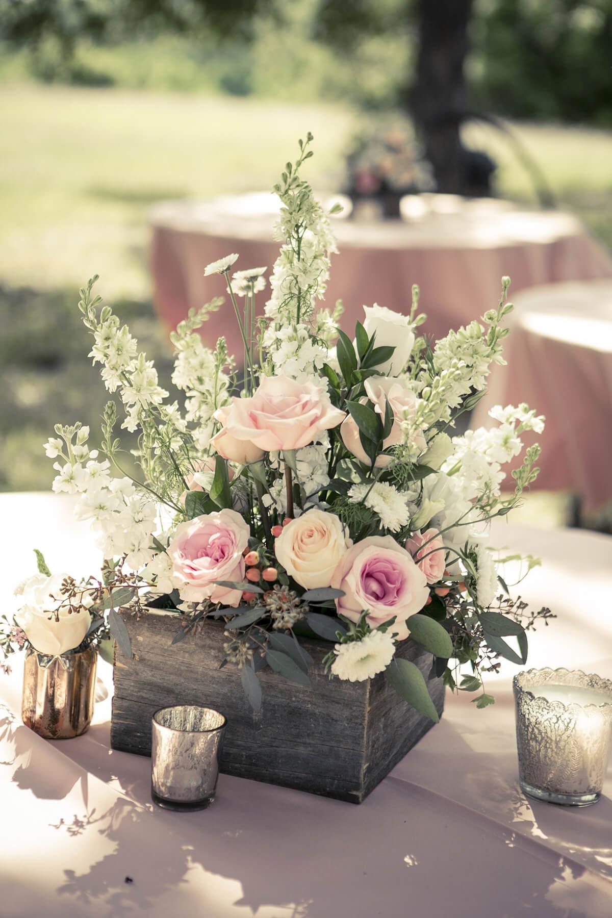 A Fresh, Colorful Floral Arrangement