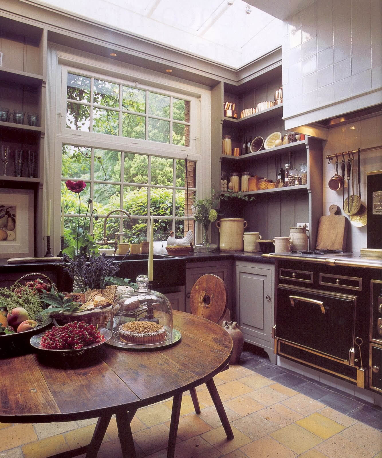 The Perfect Cottage Kitchen View