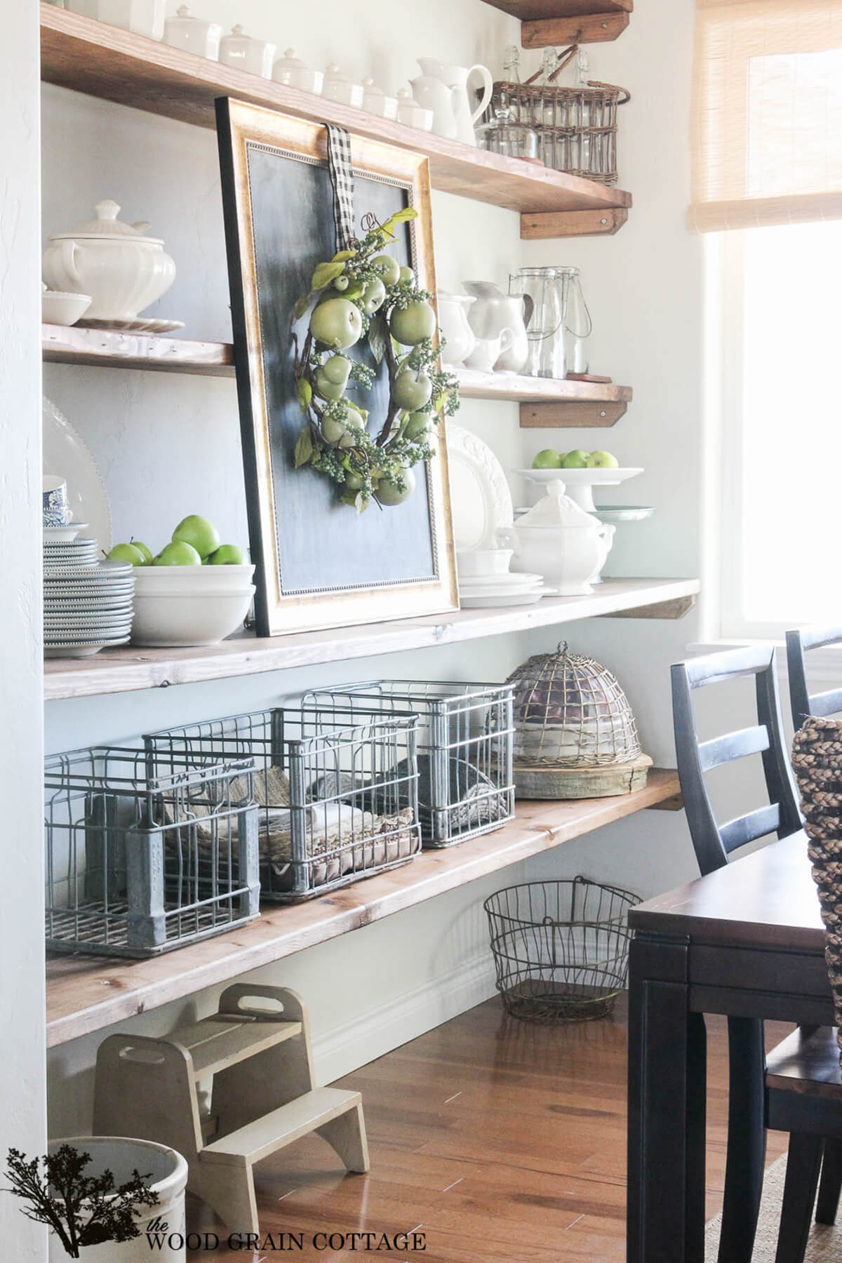 Farm Fresh Dining Room Storage Ideas