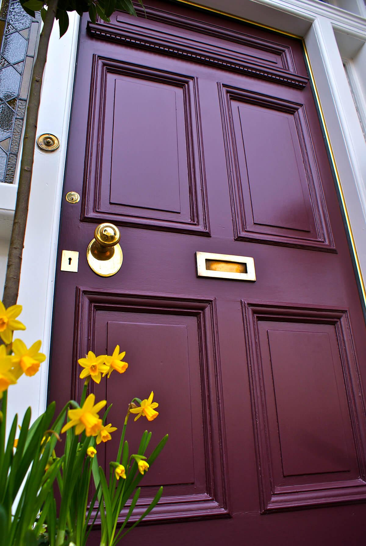 Purple Door Is The Mark of Royalty