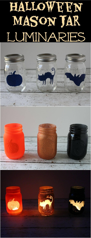 Fun and Fancy Mason Jar Halloween Craft