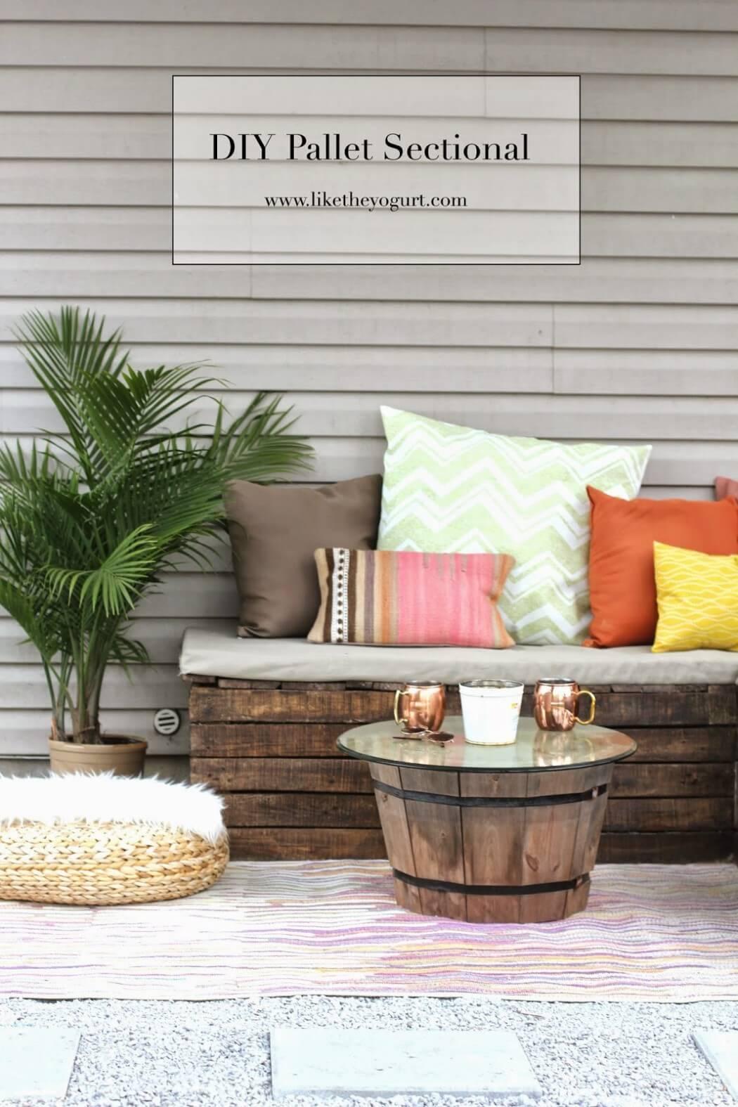 Chic Cantina DIY Outdoor Furniture Ideas