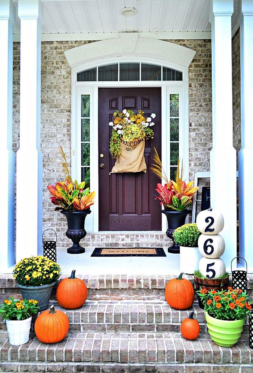 A Pumpkin and Flower Harvest