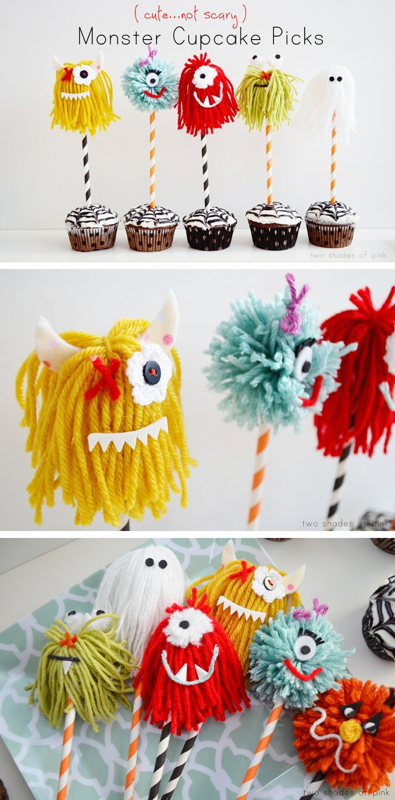 Cheering for Monster Cupcakes