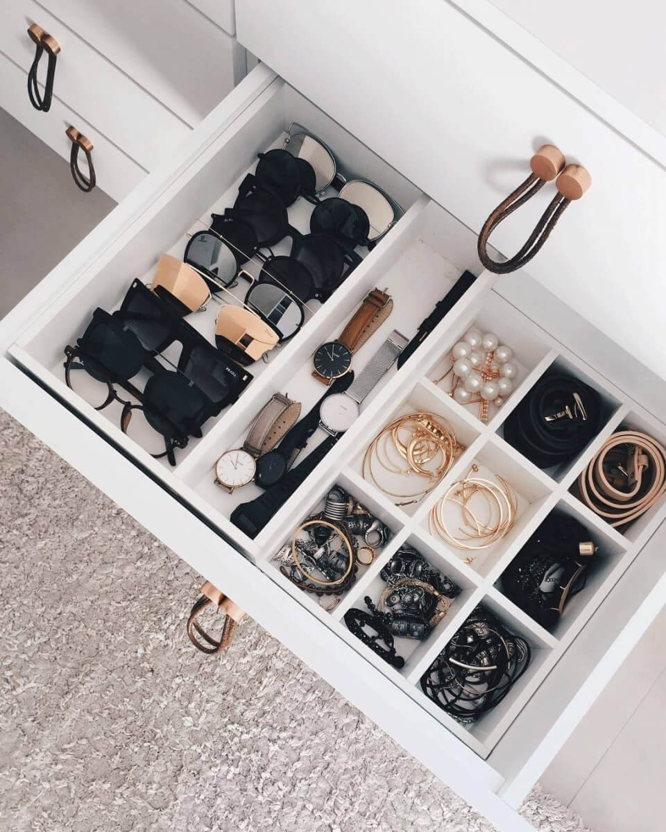 A Kardashian Worthy Accessory Drawer