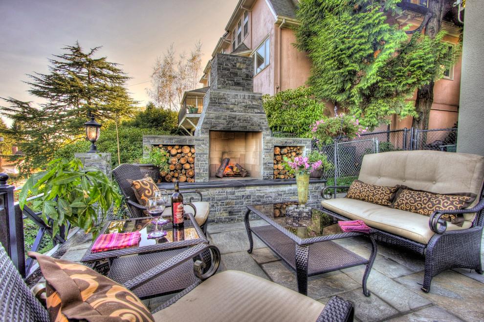 Rustic Charm Meets Elegant Outdoor Living