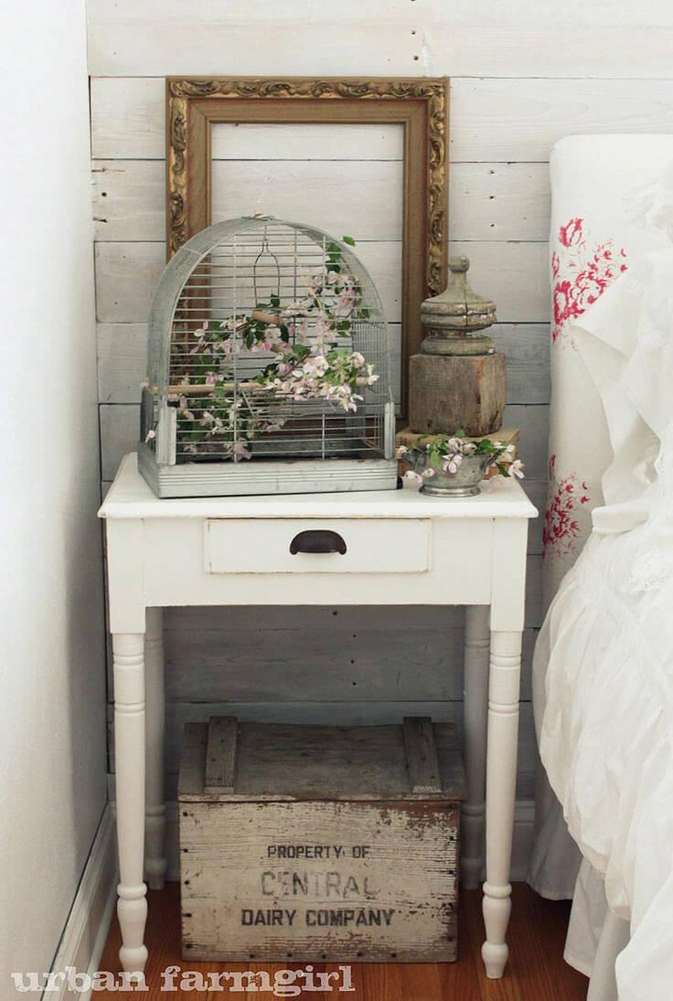 Bedside Cottage Antique Implements