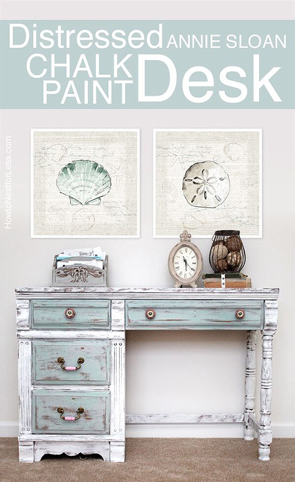 Use Chalk Paint to Repaint a Desk