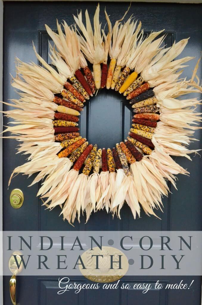 Sun Burst of Indian Corn