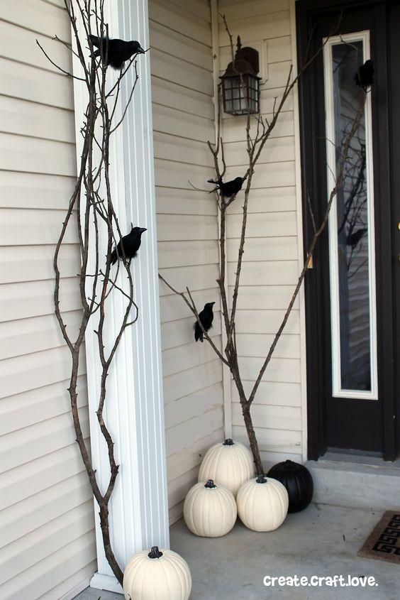 Black Ravens and White Pumpkins