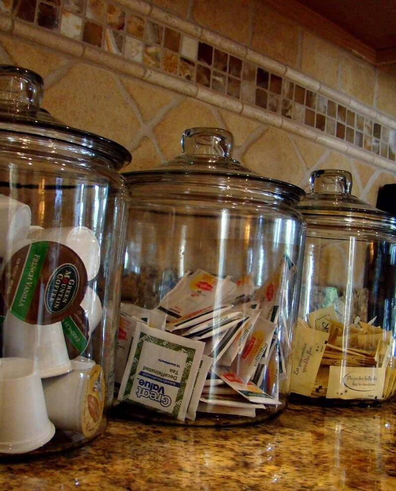 Oversized Cookie Jars for Coffee and Tea