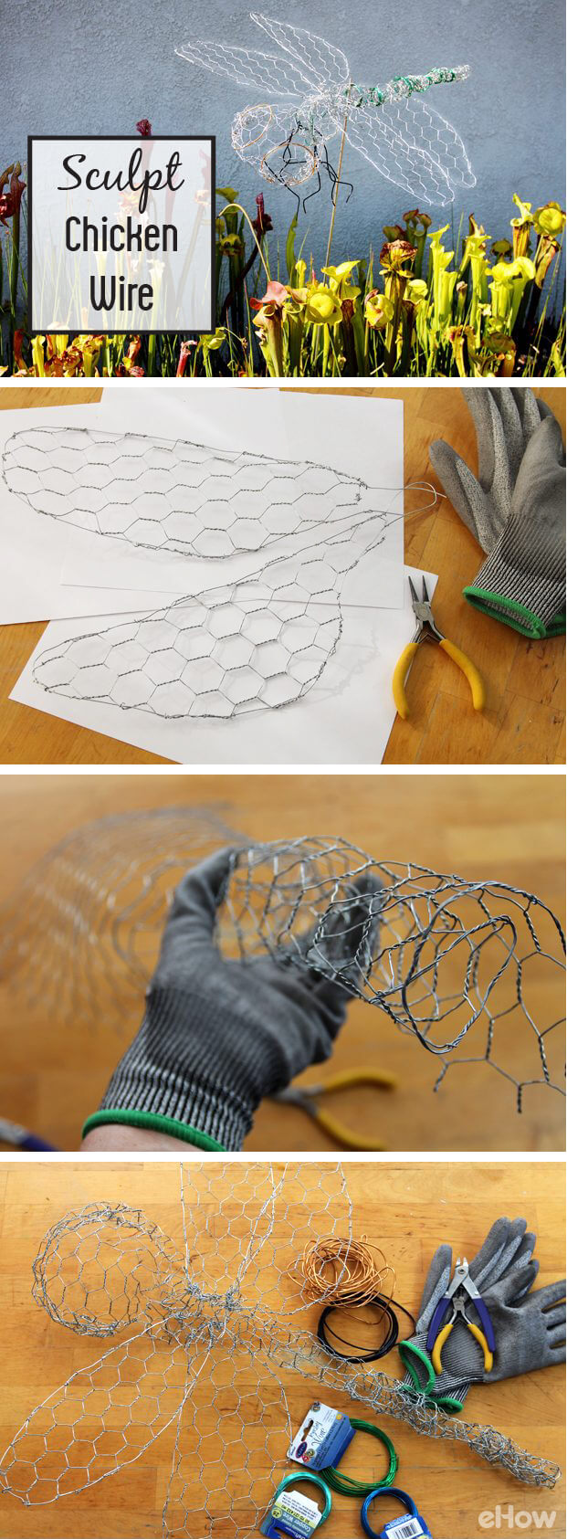 Create This Easy Dragonfly with Wire