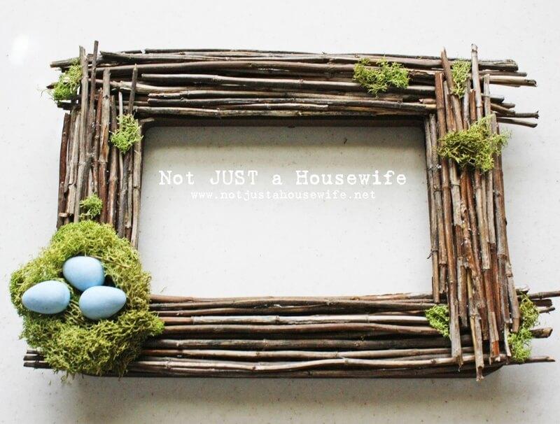 Easter Egg Nest Picture Frame
