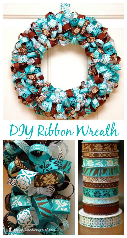 Christmas Wreath Ideas with Ribbon