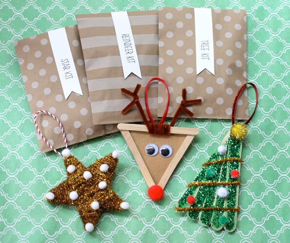 DIY Ornament Packets