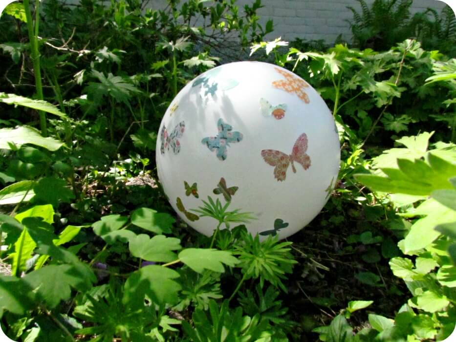 Ball Scattered with Lovely Butterflies